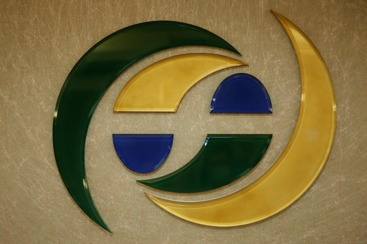 The logo of Financial Supervisory Commission is seen in its office in Taipei, Taiwan May 23, 2016. REUTERS/Tyrone Siu - RTSFHSF
