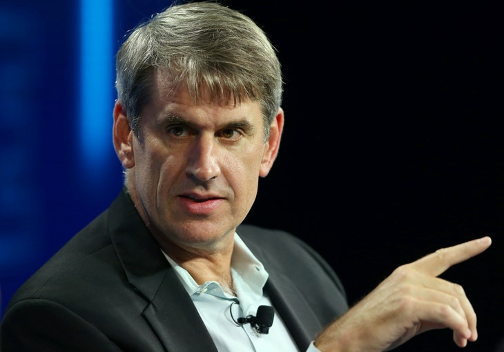 Bill Gurley general manager of Benchmark speaks at the WSJD Live conference in Laguna Beach, California