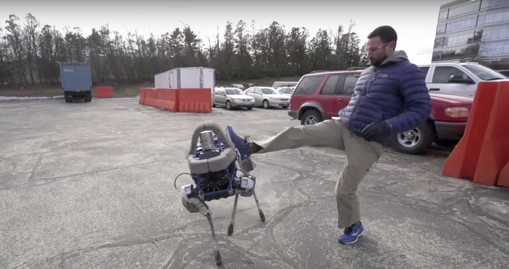 Photo credit: Boston Dynamics on YouTube 影片截圖