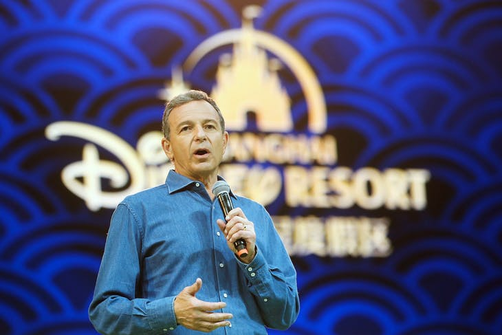 Disney's Chief Executive Officer Bob Iger holds a news conference at Shanghai Disney Resort as part of the three-day Grand Opening events in Shanghai, China, June 15, 2016. REUTERS/Aly Song - RTX2GAJV