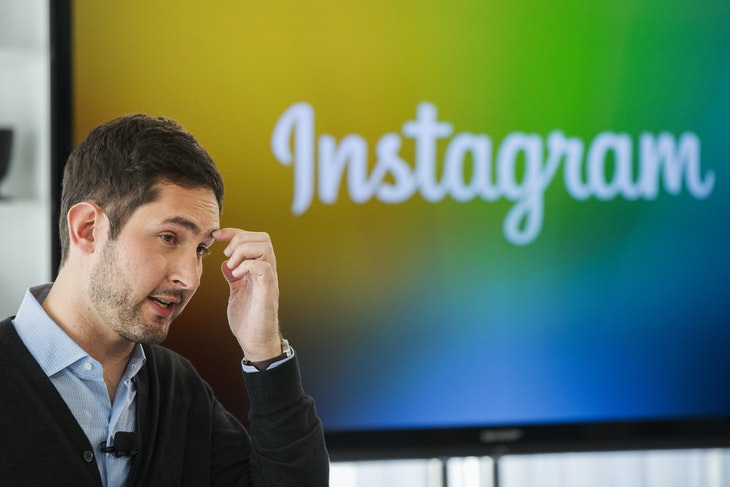 Instagram CEO and co-founder Systrom speaks during the launch of Instagram Direct in New York