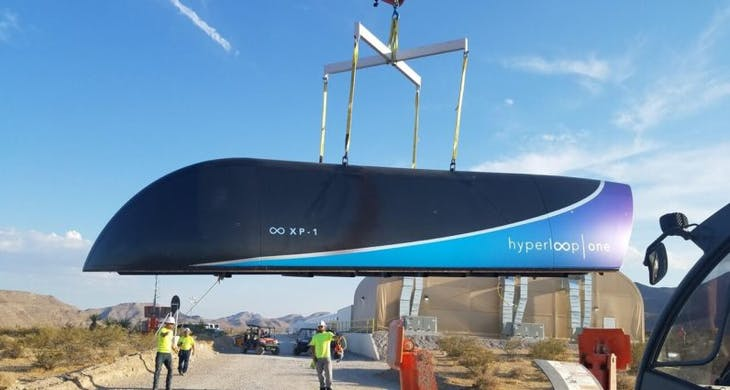 Photo Credit: Hyperloop One