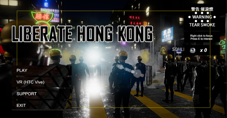 Credit: Liberate Hong Kong Game Team / 蜜雅截圖
