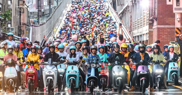 Photo Credit:Gogoro