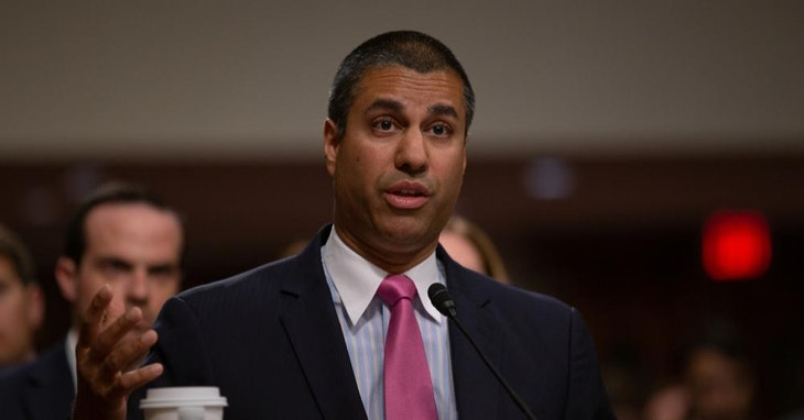 FCC主席 Ajit Pai    △ Photo Credit:Reuters / TPG Images