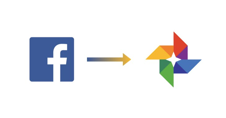 Facebook、Google Photos